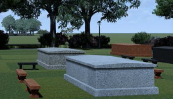 The Heritage Park Garden Monument
